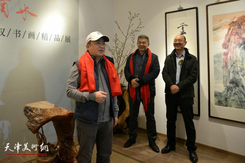 鼎天国际拍卖董事长杜耕致辞。