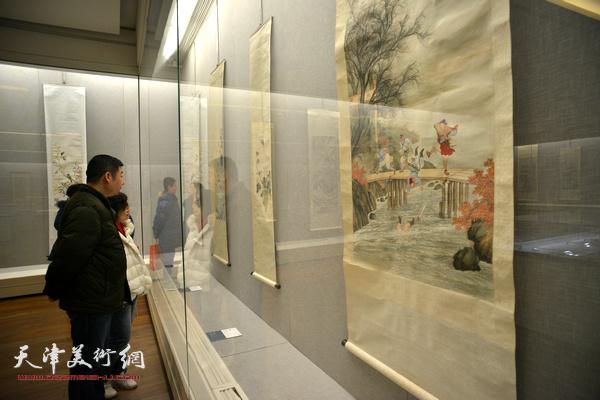 """""""岁月涟漪——近代""""湖社""""画会展""""亮相天津美术馆。"""
