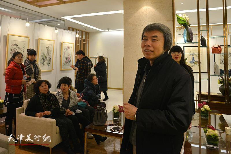 天津美协副主席孙敬忠致辞。