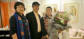 水·色·韵—王刚水彩展在乐天百货MVG画廊开幕