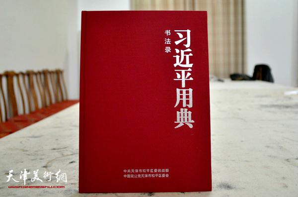 天津著名书法家赵寅书法录《习近平用典》