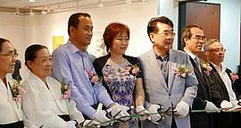 中韩文化交流使者李澜画展在首尔韩国美术馆开幕
