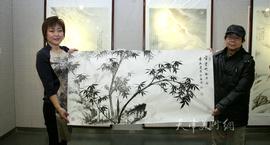 李澜雪景鞍马作品展圆满收官 七月赴韩国展览