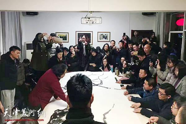 第三届庭前春早-贾广健师生展