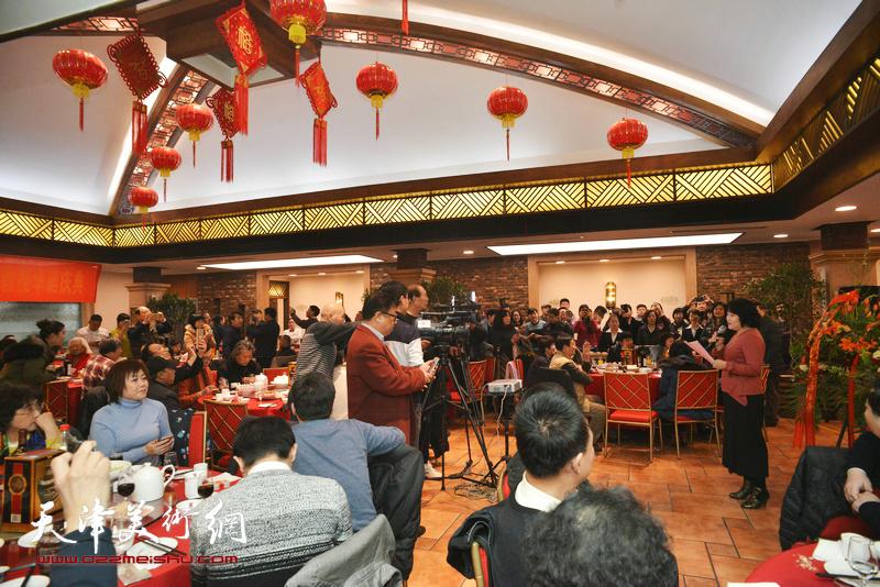 孙其峰先生98华诞庆寿聚会16日在天津聚贤阁举行。