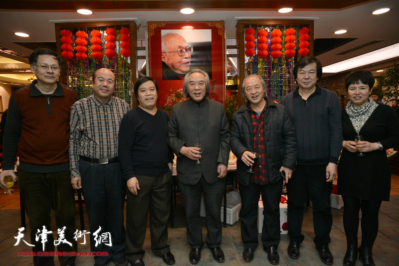 左起:潘津生、孟庆占、李耀春、霍春阳、王书平、史振岭、车凤云