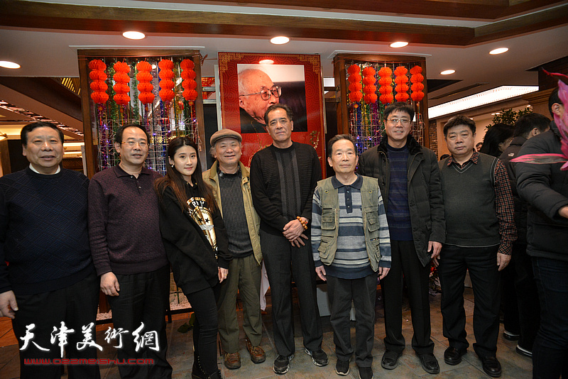 李风雨、张志连、杨利民、卞昭宏、高天武、张养峰等在庆寿聚会现