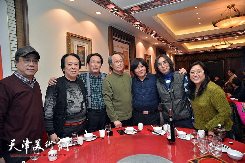 陈福春、纪荣耀、高学年、刘绍斌、卢津艺、杨永茂、冯海娇在庆寿