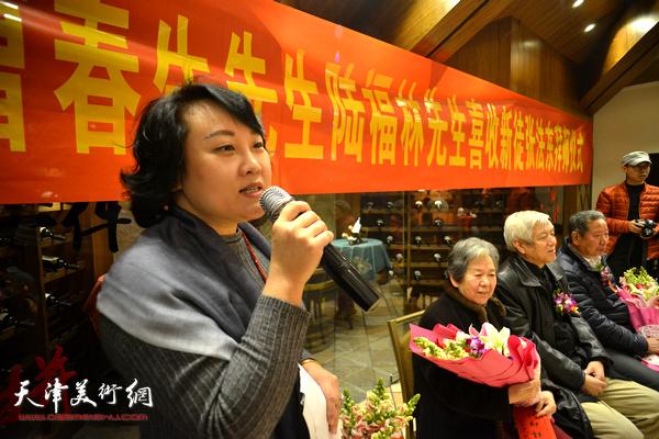 著名画家曹春生、陆福林先生喜收新徒张法东