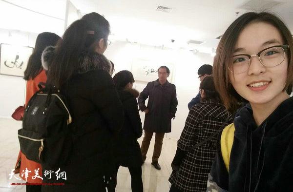 另一个世界—顿子斌汉字水墨艺术展在天津师大开幕