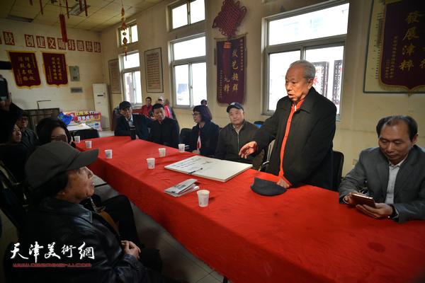 王超谈创作《颂刘园·祥音法鼓》体会。