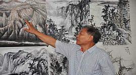 """何延喆纽约开讲 解读传统山水画的""""南北宗"""""""