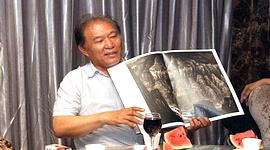 天津美院教授著名画家何延喆80年代山水画课徒稿