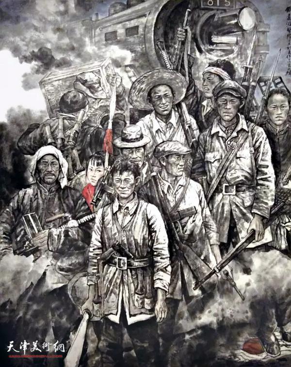 谭乃麟作品:铁道游击队