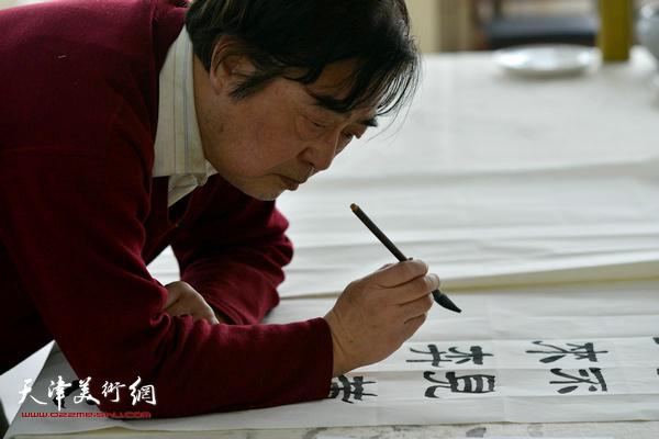 陈连曦在活动现场。