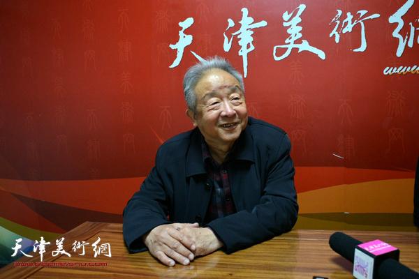 况瑞峰做客天津美术网访谈
