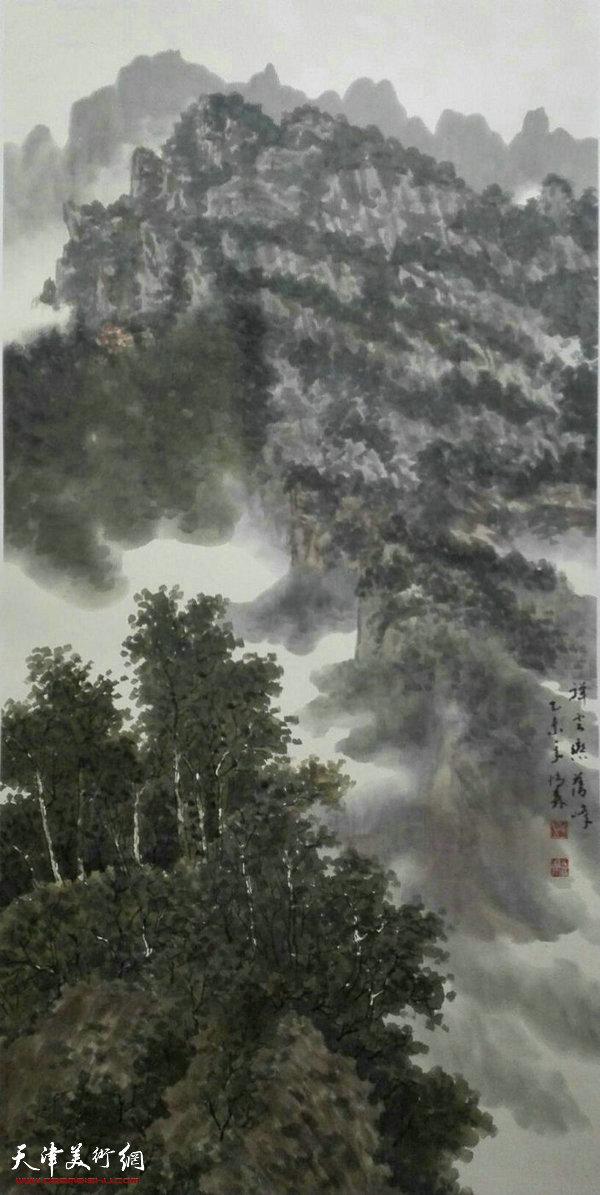 著名画家柴博森国画作品