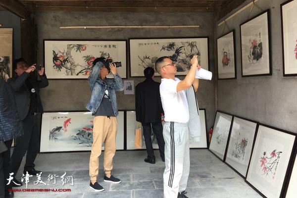 张善孖、张大千艺术研究会名家书画展