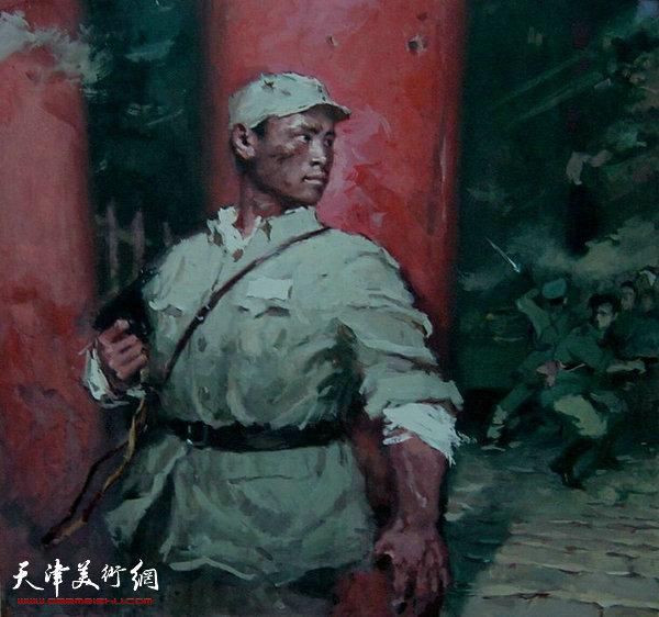 刘子威《在决战的日子里》插图