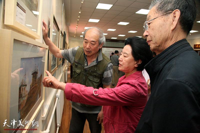 炫彩五月-天津市政协水彩画艺术研究院作品展