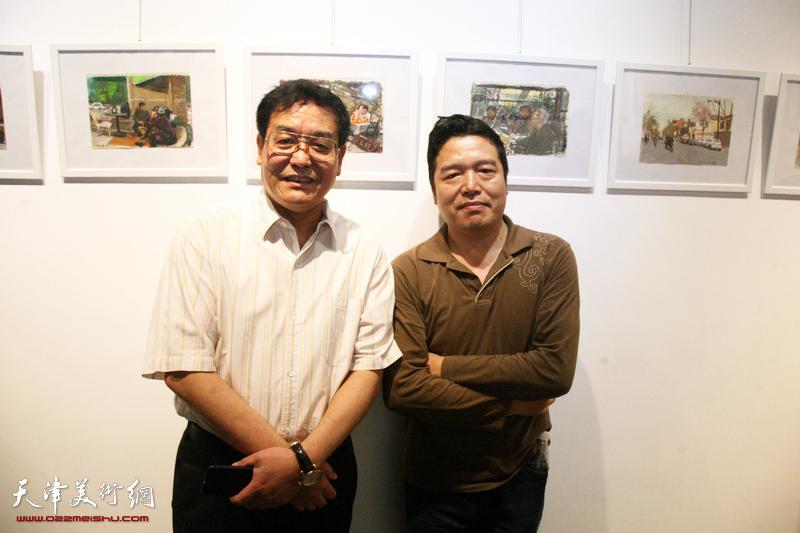 张胜绘画专题研究观摩展