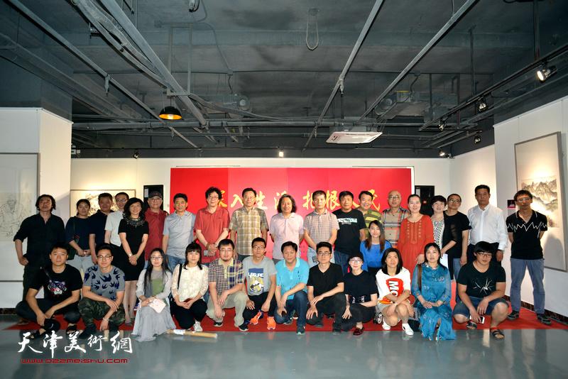 天津画院写生作品展5月17日在青年美术创作研究中心青创美术馆举行