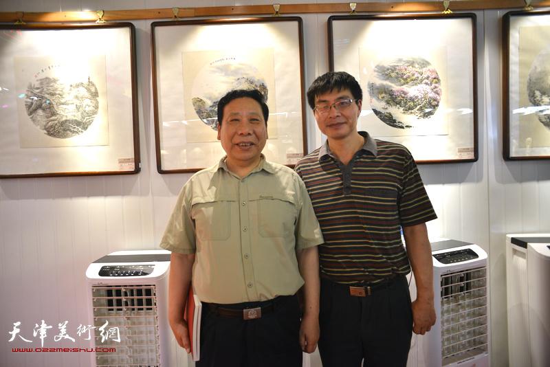 沽上采薇-天津美协山水画专委会小品画展