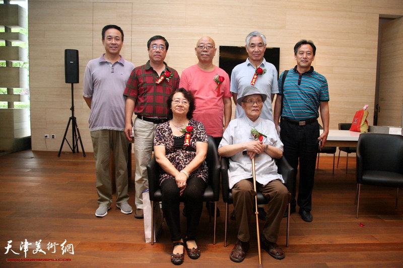 来宾郭燕_天津湖社会员作品在津整体亮相 展示百年湖社艺术风采--滨海高新