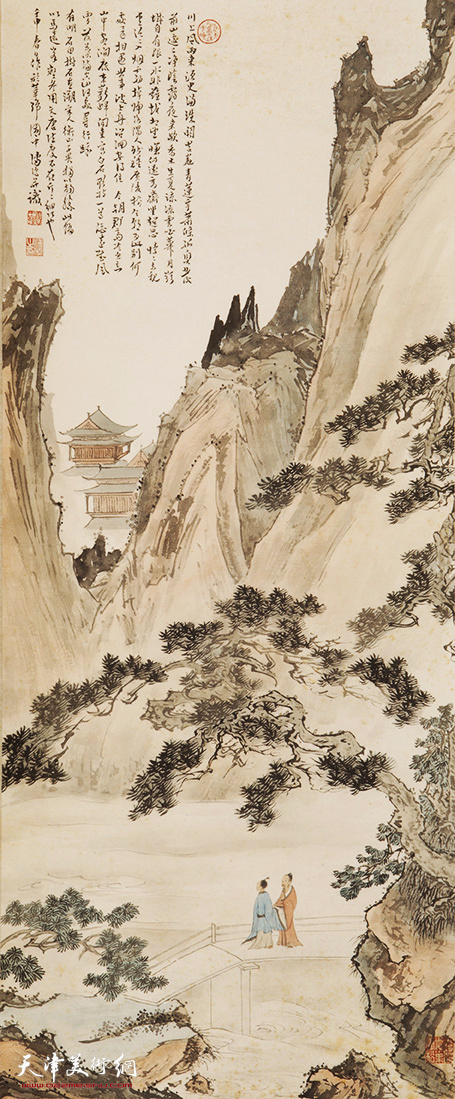 溥心畬(1896-1963) 山水