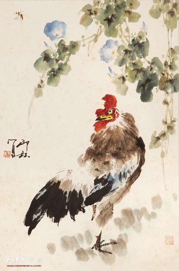 萧朗(1917-2010)大吉图