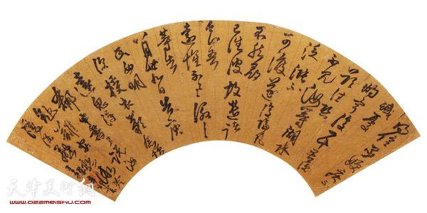王铎(1592-1652) 扇面