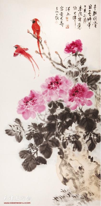 霍春阳(b.1946)富贵长寿
