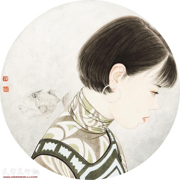 姜志峰 少女