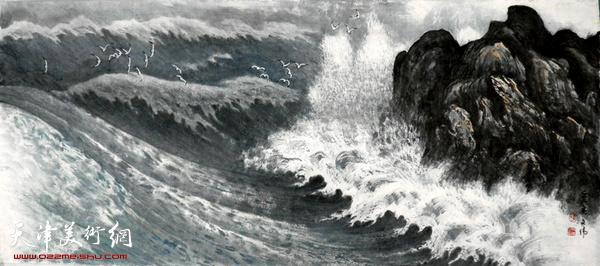 海客心声(2012年世界海洋日在《中老年时报》发表)  郭文伟作