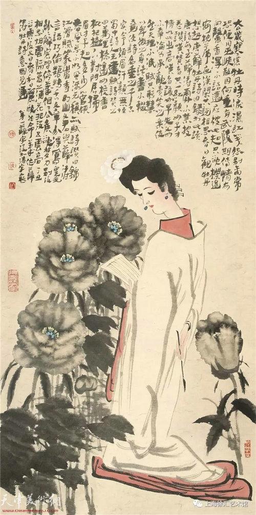 陈冬至 《薛涛·牡丹诗意》