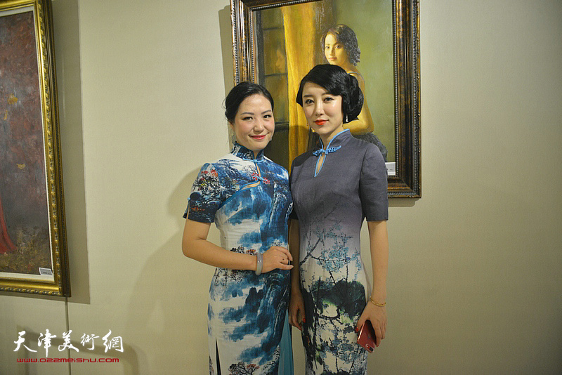 丝绸·女人·油画展
