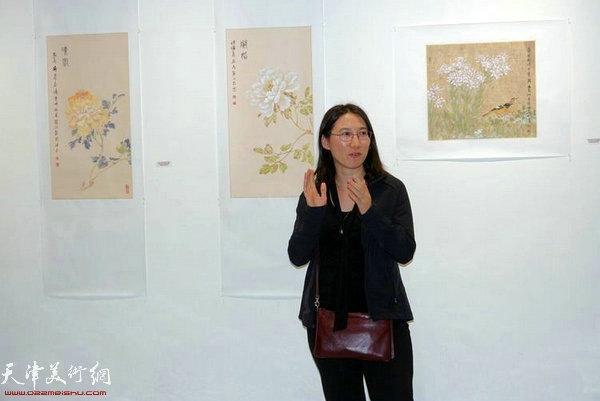 华人协会主席王忠丽女士致辞