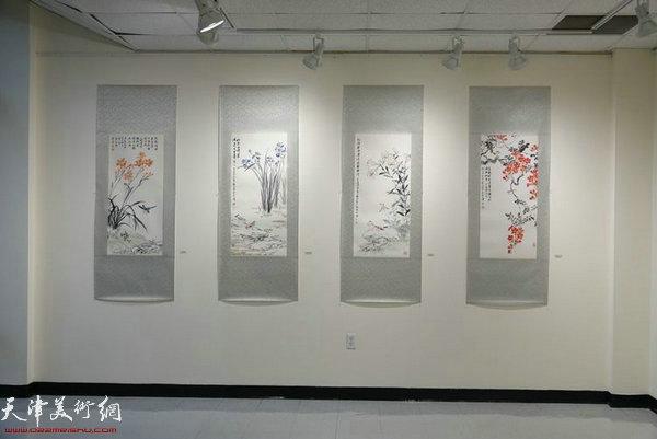 图为部分展览作品。