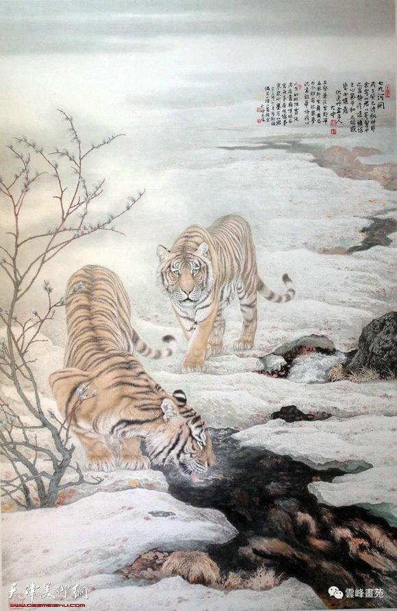 全球水墨画大展 入围作品预览(动物篇)