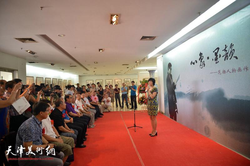 范扬中国画作品晋中展在榆次文化艺术中心美术馆开幕
