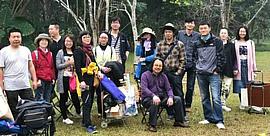 组图:贾广健带学生到西双版纳采风写生
