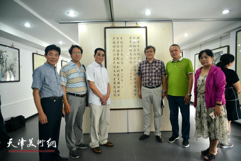 砚田耦耕—韩嘉祥姚景卿书画联展
