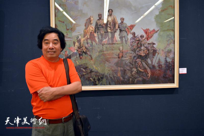 庆祝中国人民解放军建军90周年天津市美术作品展