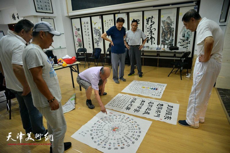 第十三届全运会-天津体育文化作品展作品评审
