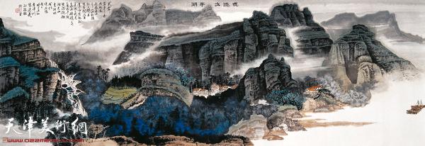 陈连羲作品《魂迷太平湖》