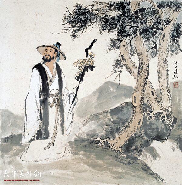 中国画 >> 正文  立秋,秋天第一站 古代将立秋分为二候:初候凉风至,二
