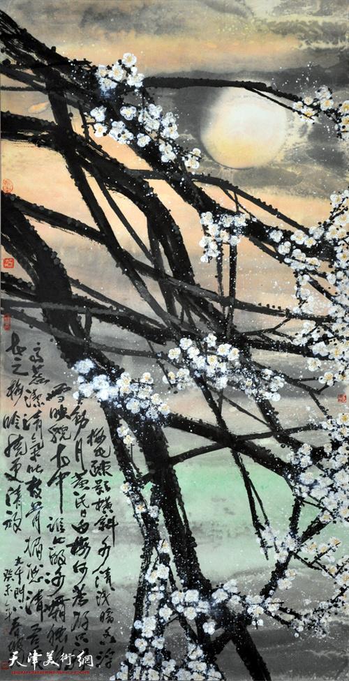 史春坡作品:梅花疏影横斜多