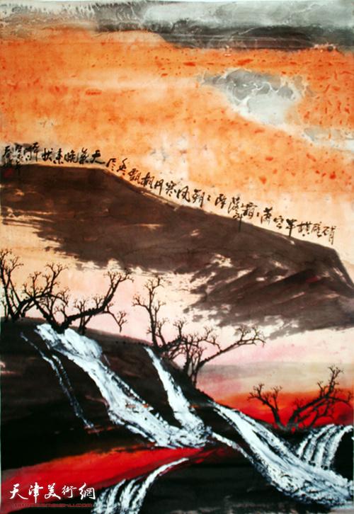 史春坡作品:峭壁