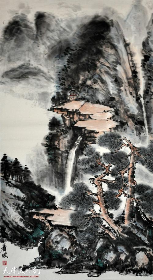 史春坡作品:山水