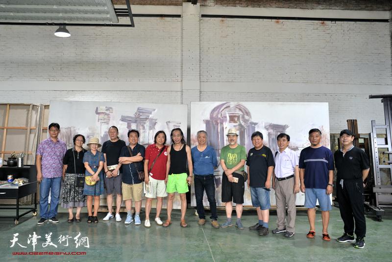 孙建平、王晓曦艺术工作室入驻小淀国际当代艺术区